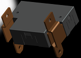 DPST 200A Latching Relay for Energy Meters