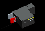 120A 277VAC UC3 Certified Latching Relay with 7000A overcurrent endurance for High End Smart Meters