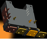 Two Phase DPST Latching Relay 100A-120A
