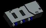 Three Phase Latching Relay 100A - 120A for Energy Meters
