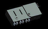 Three Phase Latching Relay 100A - 120A 250VAC for Smart Meters