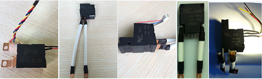 Magnetic Latching Relay Assemblies for Smart Energy Meters with CTs,Shunts, Copper Wires and Brass Terminals.
