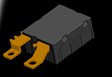 60A to 80A 250VAC magnetic latching relay for energy meters